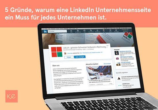 linkedin-company-seite-kmu-unternehmen-schulung-info